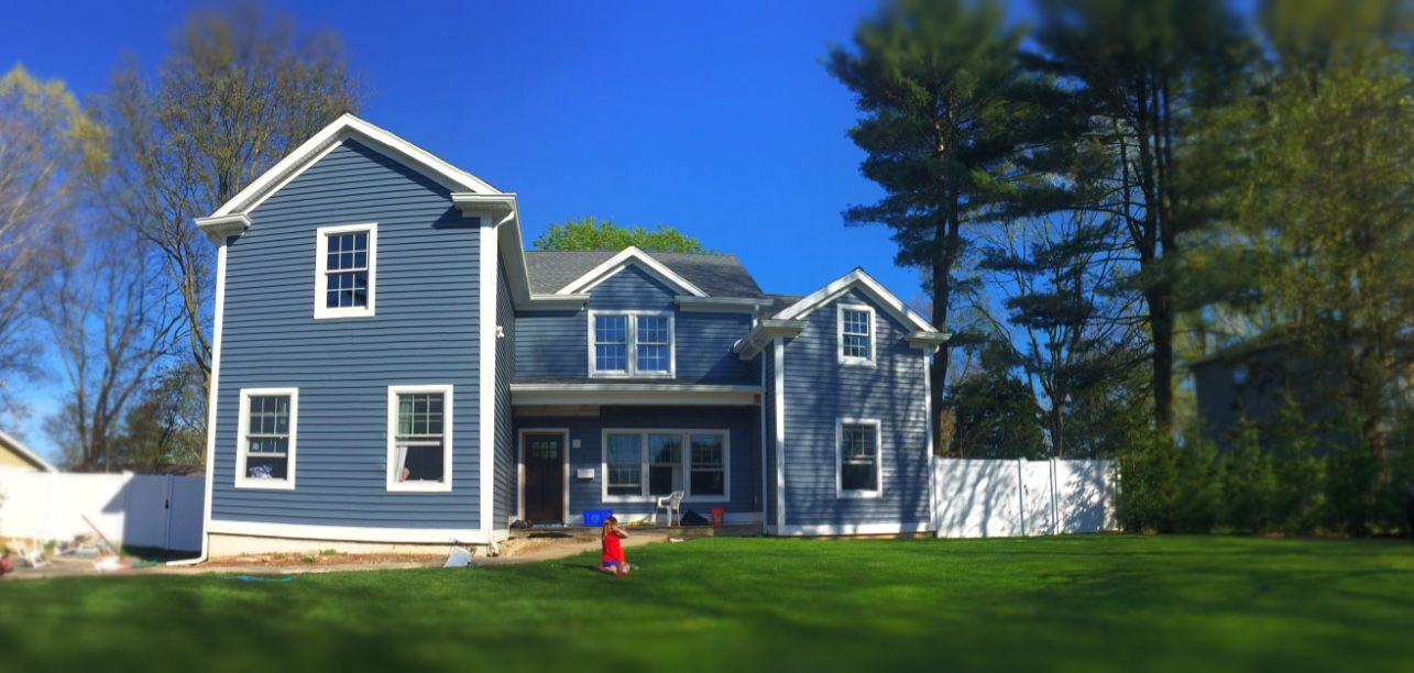 Certainteed Pacific Blue Double 5 Siding Exterior House Siding Blue Siding House Siding