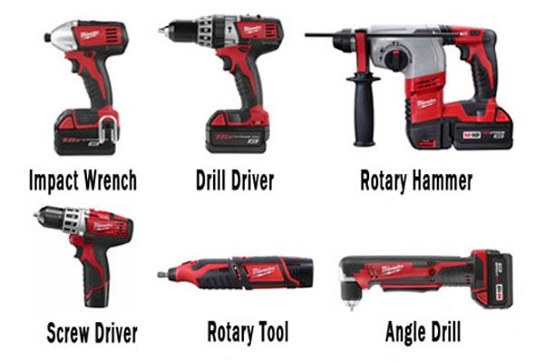 What Are The Different Types Of Power Tools: All Type Of Cordless Drills