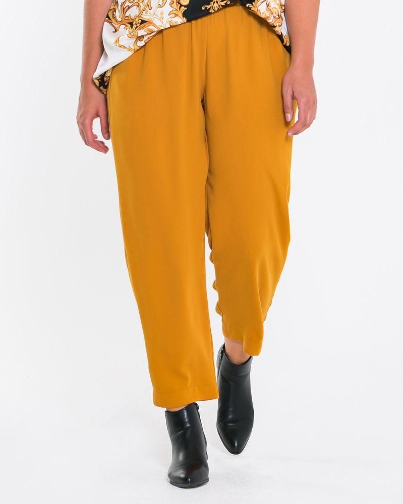fd64ce08e42c Κρεπ σαλβάρι με τσέπες — mat. XXL sizes — Γυναικεία Ρούχα