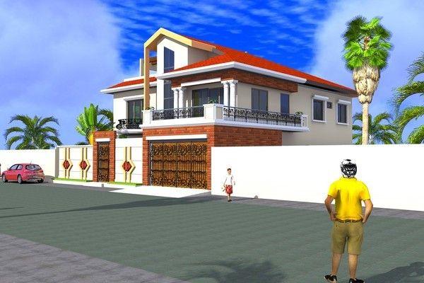 Projet De Construction D Une Villa A Ouagadougou Burkinafaso