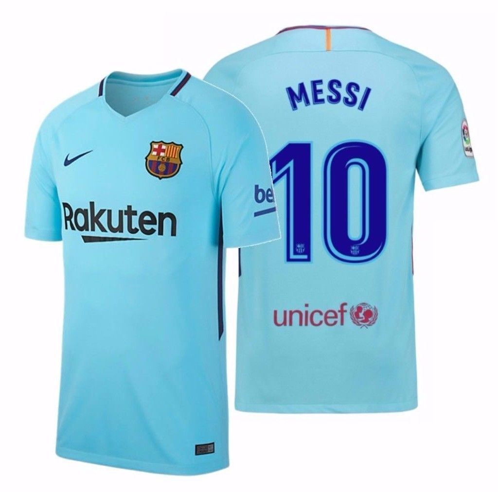 9152cb0ecc48 NIKE LIONEL MESSI FC BARCELONA AWAY YOUTH JERSEY 2017 18 YOUR TEAM. YOUR  COLOURS