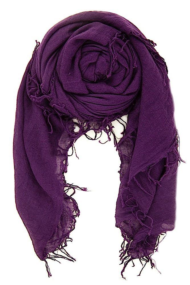 Chan Luu - Shadow Purple Cashmere and Silk Scarf, $195.00 (http://www.chanluu.com/scarves/shadow-purple-cashmere-and-silk-scarf/)