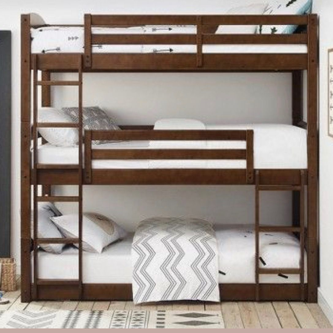 Triple Bunkbed From Target Com Bedrooms Triple Bunk Beds Bunk