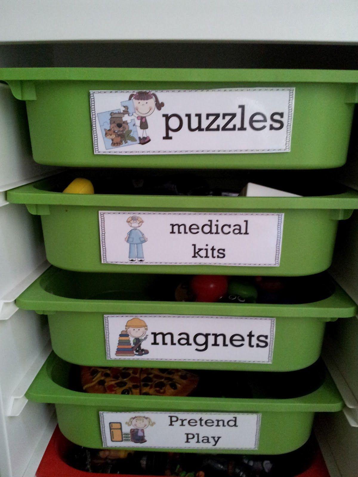 The Crazy Pre K Classroom Classroom Bin Label Printables June 3 Post