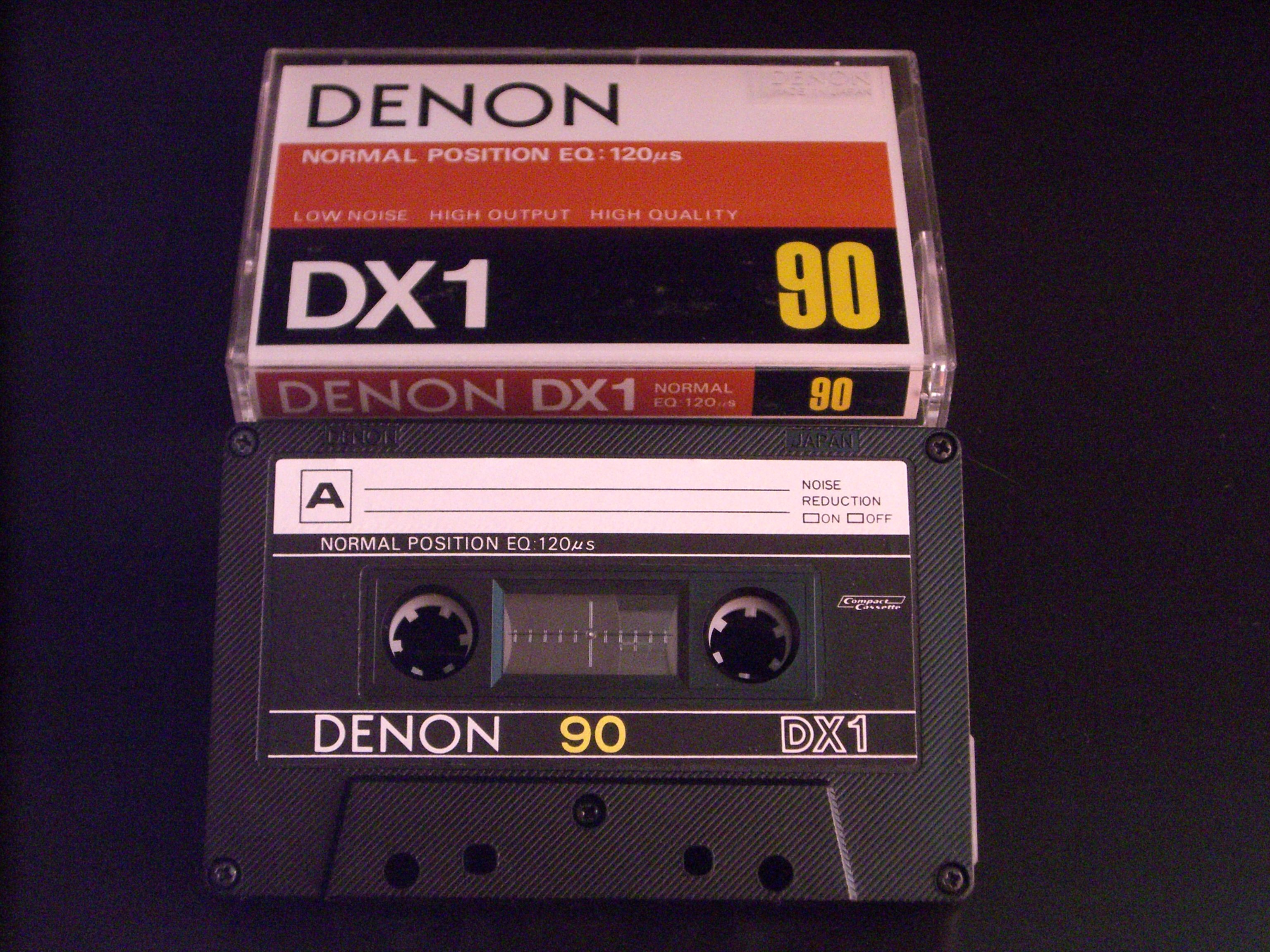 NEW Japan Denon LX 60 Type I Normal Bias Cassette Tape