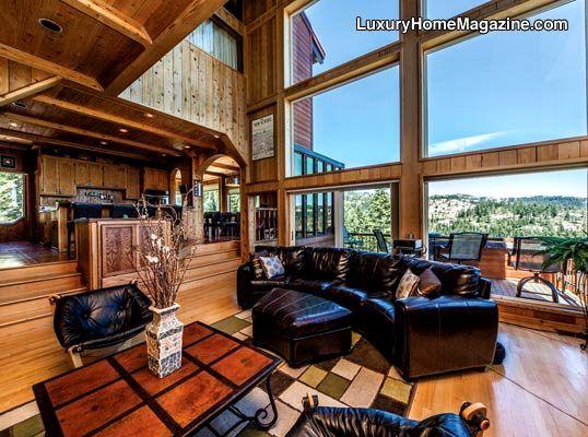 luxury mountain estate homes house decor interior design wood rh pinterest com