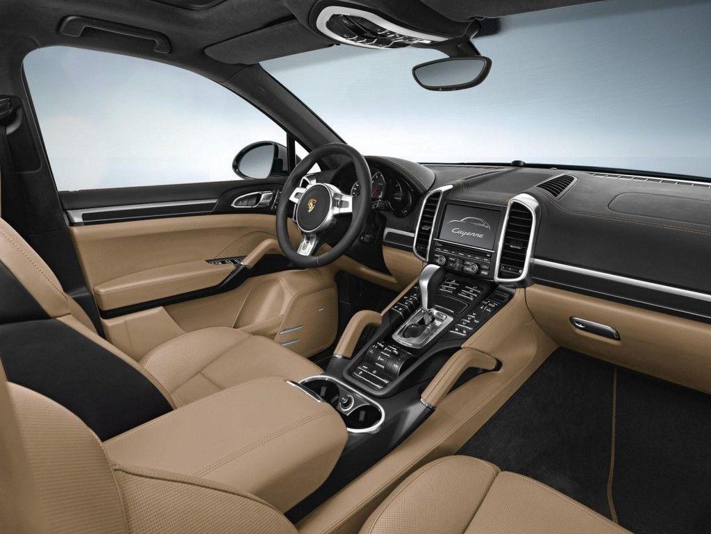 porsche cayenne platinum edition sports car interior surfolks