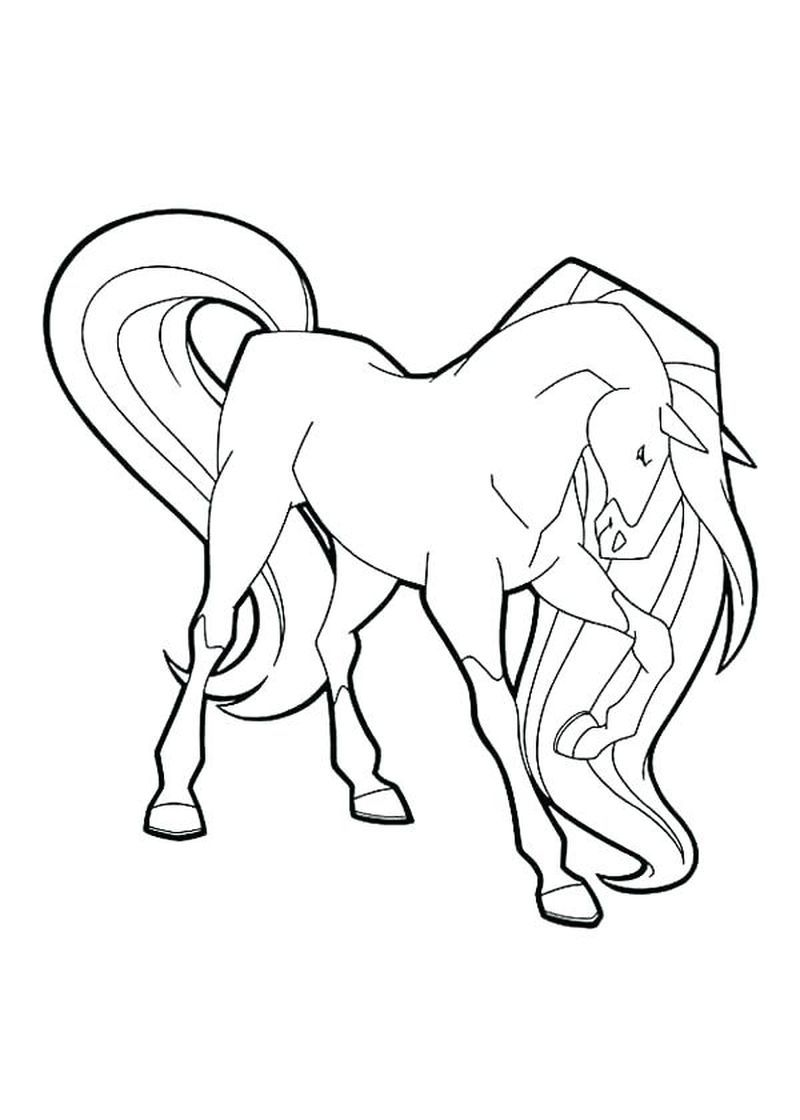 Horseland Scarlet In 2020 Kids Printable Coloring Pages Horse Coloring Pages Coloring Pages