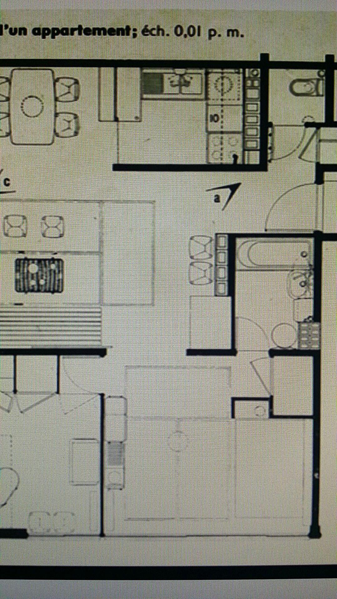 Logement du0027un immeuble collectif Architecture PlanArchitecture Drawing