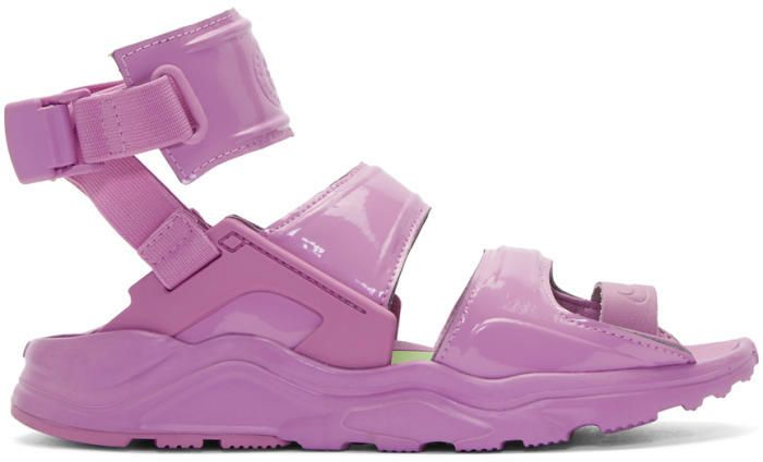uusia kuvia uusi tyyli muoti Nike Purple Air Huarache Gladiator Sandals   rahrahs in 2019 ...