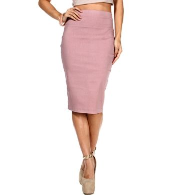 Mauve Pencil Skirt | Look Book | Pinterest | Mauve, Skirts and ...