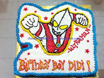 Ultraman Cake The Scandal Of Cakes Cake Cake Toppers
