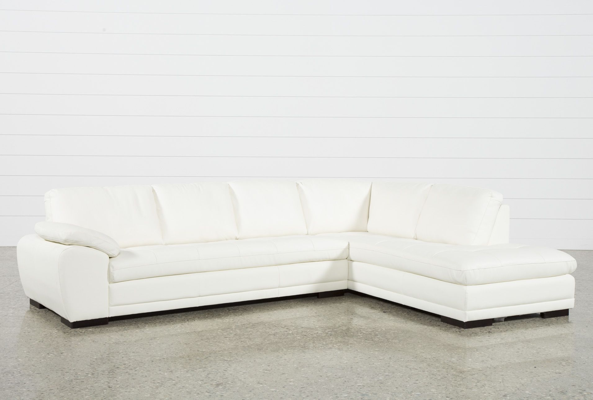 vaughn alabaster 2 piece sectional with right facing chaise white rh pinterest com