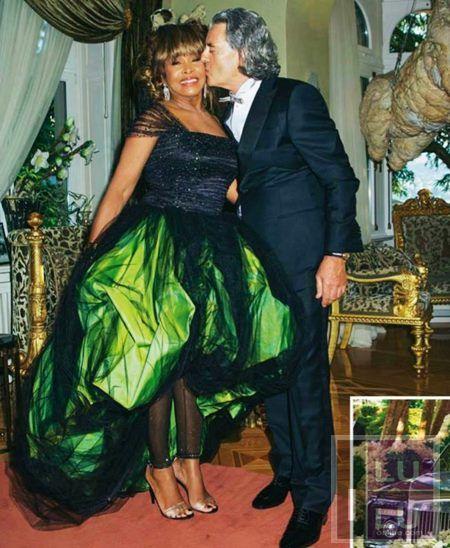 tina turner marries erwin bach - wedding album   tina   ike turner
