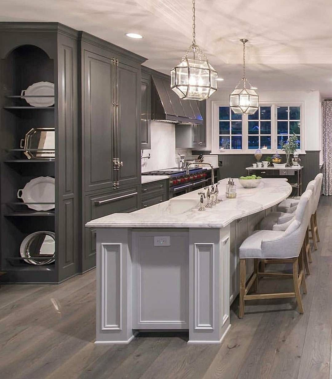 Beautiful two toned kitchenu2026 Via 7644