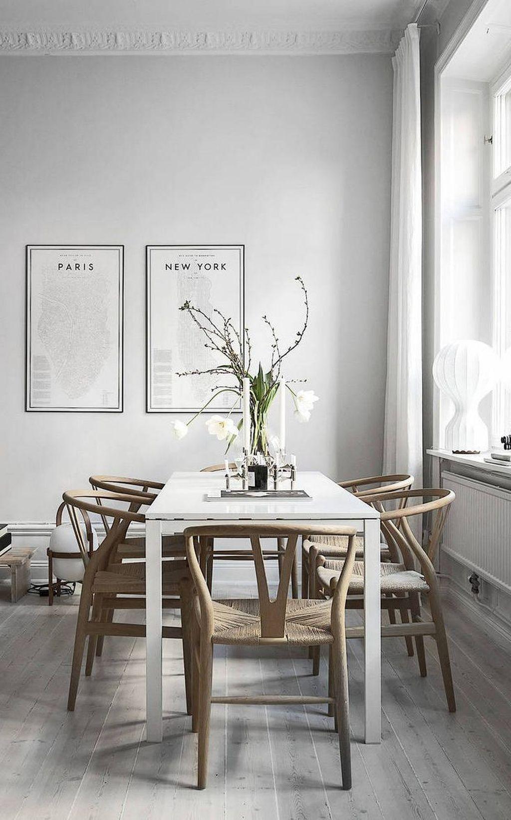 96 inspiring modern dining room design ideas dining room rh pinterest com