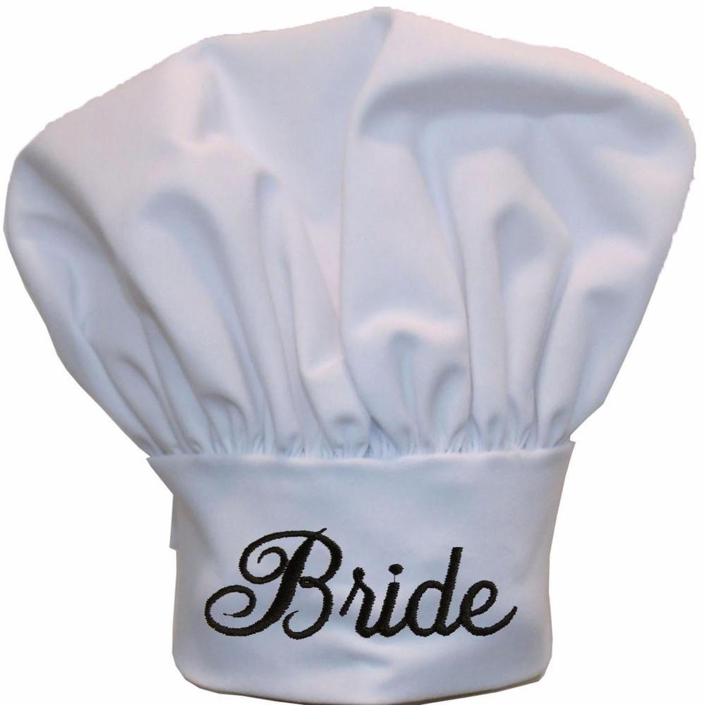 Bride Chef Hat Wedding Gift Bridal Shower