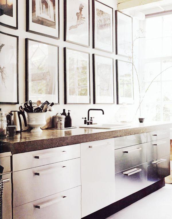 art over a kitchen sink cbc home kitchen kitchen design home rh pinterest com
