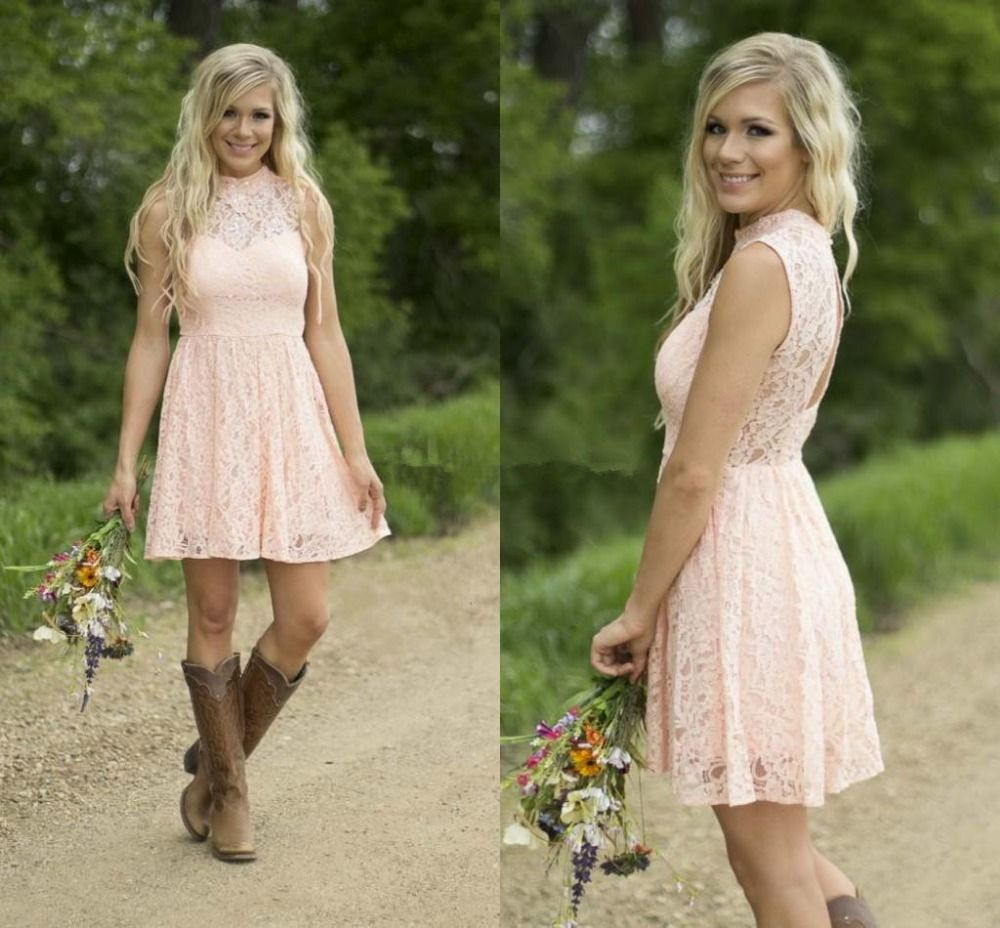 Western Wedding Bridesmaid Dresses 63