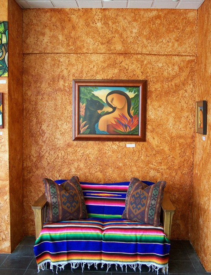 Efectos De Pintura En Paredes 7 Enlucido Paredes Pinterest  ~ Pintura Decorativa Paredes Interiores