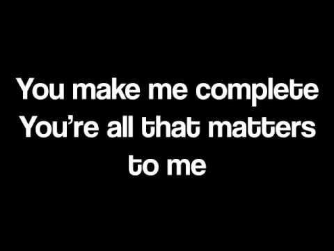 Justin Bieber All That Matters Lyric Video Justin Bieber Lyrics You Make Me