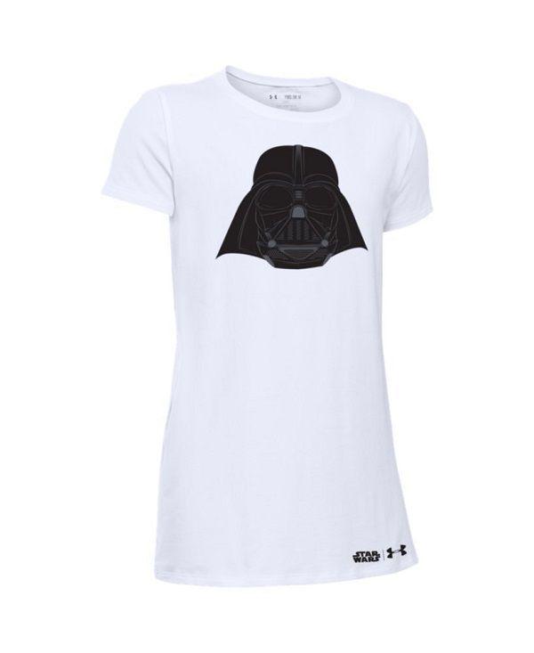 Under Armour Girls' Star Wars Darth Vader Short Sleeve T-Shirt