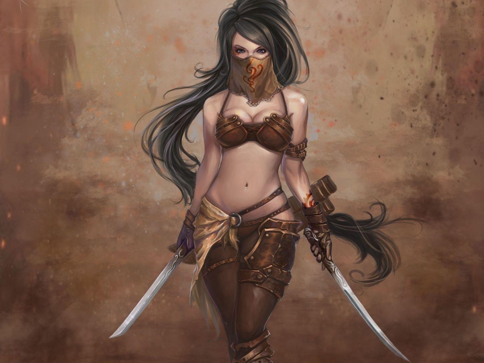 Fantasy female warriors names