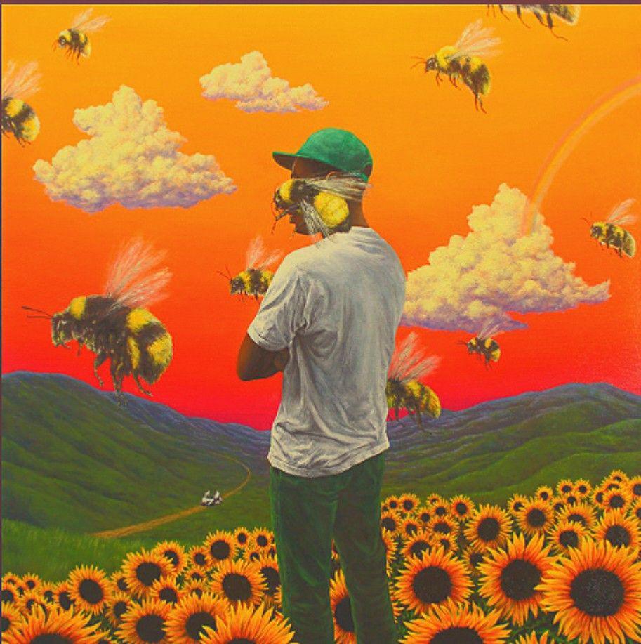 Flower Boy Album Cover Indie Fliter Flower Boy Album Boys Artwork Album Cover Art