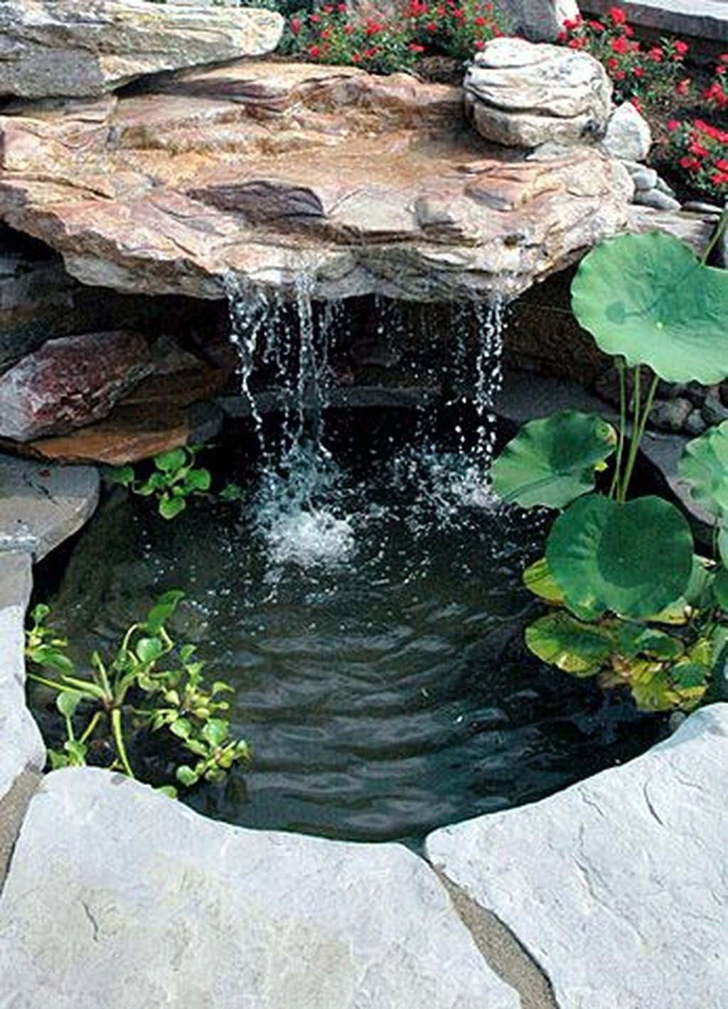 Modish Solar Garden Water Features Uk Exclusive On Kennys Landscaping Ideas Water Features In The Garden Waterfalls Backyard Pond Landscaping