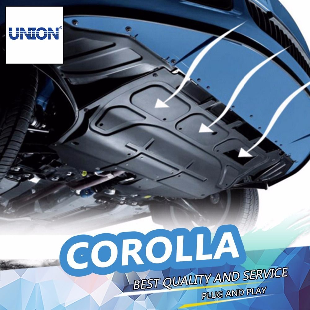 UNION Car styling Plastic engine guard 2009-2015 For Corolla Engine ...