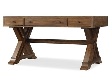 shop for hooker furniture darden 60 writing desk 5133 10458 and rh pinterest com