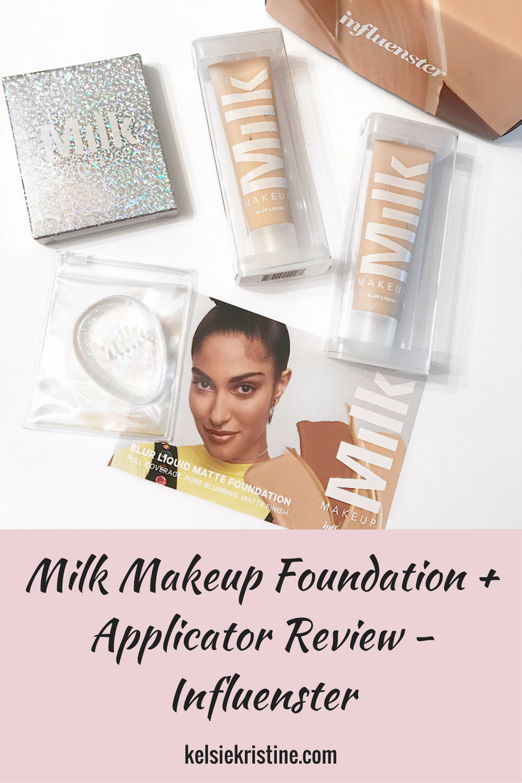 Milk Makeup Foundation and Dab + Blend Applicator Review