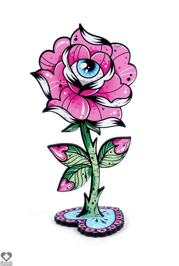 Ella Mobbs - Rose Eye Blossom Ornament - Buy Online Australia Beserk