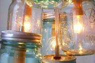 16 Mason Jar Hacks for Your Home - Homes and Hues