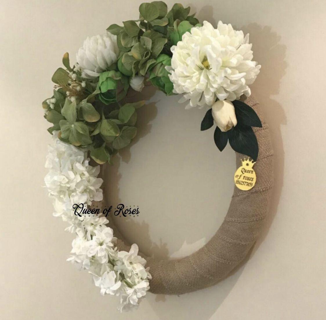 تعليقة ورد Floral Wreath Floral Wreaths