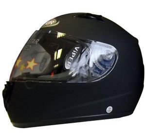 viper rs 33 cara completa casco de moto crash acu oro sharp 4 estrellas negro mate - Categoria: Avisos Clasificados Gratis  Estado del Producto: Nuevo con etiquetas VIPER RS33 RETRO MOTORCYCLE HELMET:The VIPER RS33 helmet comes with clear visorFull Face Racing HelmetReplaceable AntiScratch VisorMultiPoint Venting SystemHigh Comfort Fixed LiningSeatbelt & DoubleD FastenerECER 2205 APPROVED FOR UK ROAD USEACU GOLD APPROVED FOR TRACK USE but NO ACU GOLD STICKER on helmetComplete with helmet…