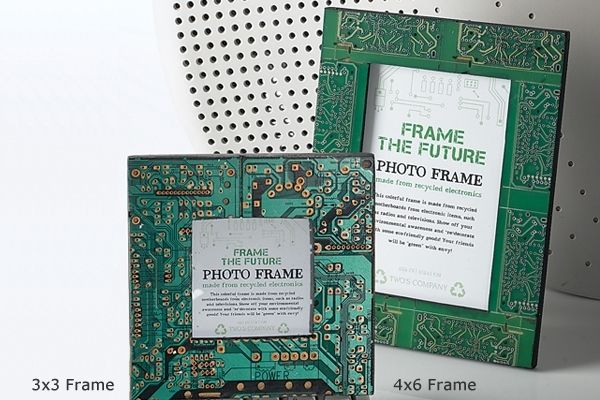 3x3 Frame The Future - Recycled Motherboard Frame | DIY