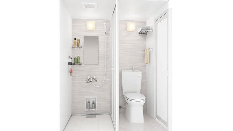 シャワー トイレユニット タカラスタンダード ユニットバス タカラスタンダード シャワー
