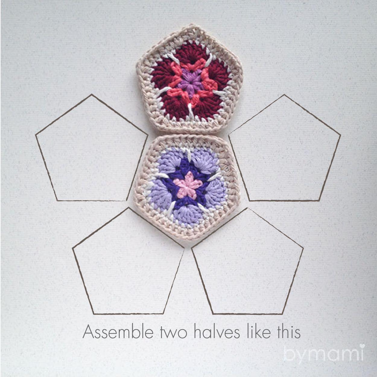 African Flower bold | crochet | African flowers, Crochet y Crochet ...