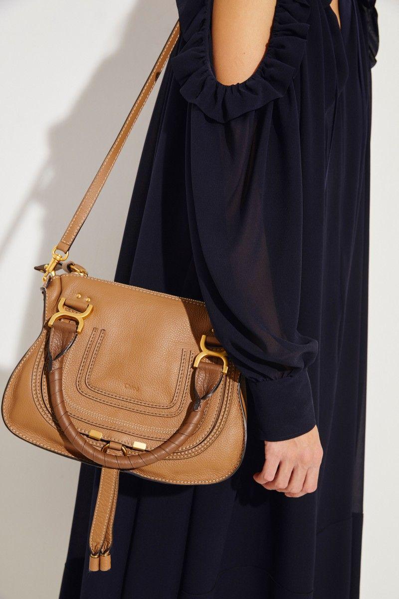 Chloé 'Marcie Small' Nut | Chloe marcie bag, Fashion, Used