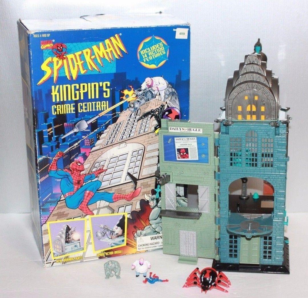 Marvel Spider-Man Web of Steel Spider-Man Vs Kingpin BRAND NEW MOC