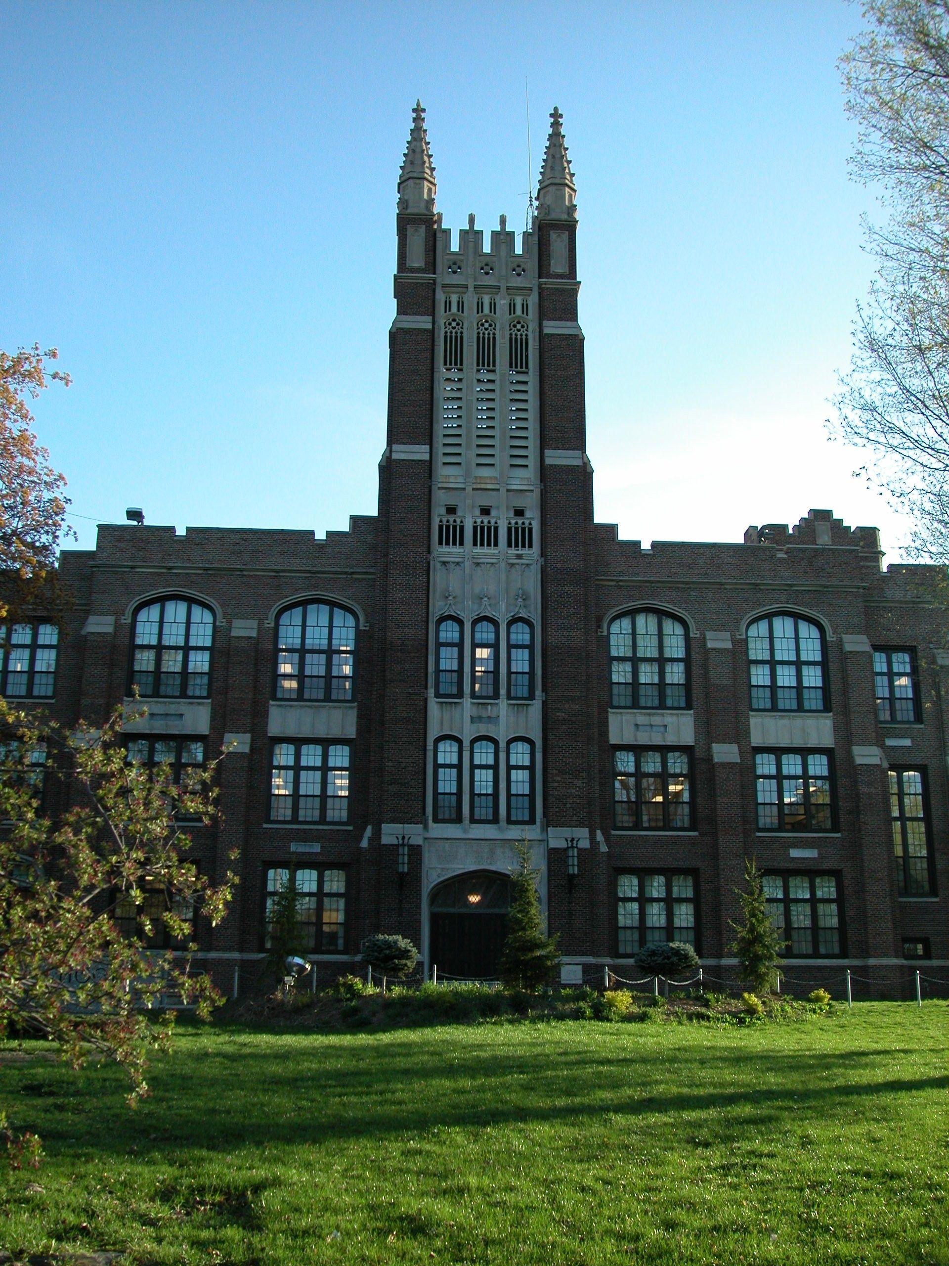 Jackson High School in Jackson Michigan. Jackson