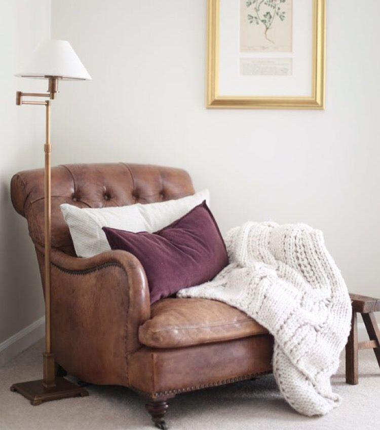 Pottery Barn Reading Nook Chair Living Room Chairs
