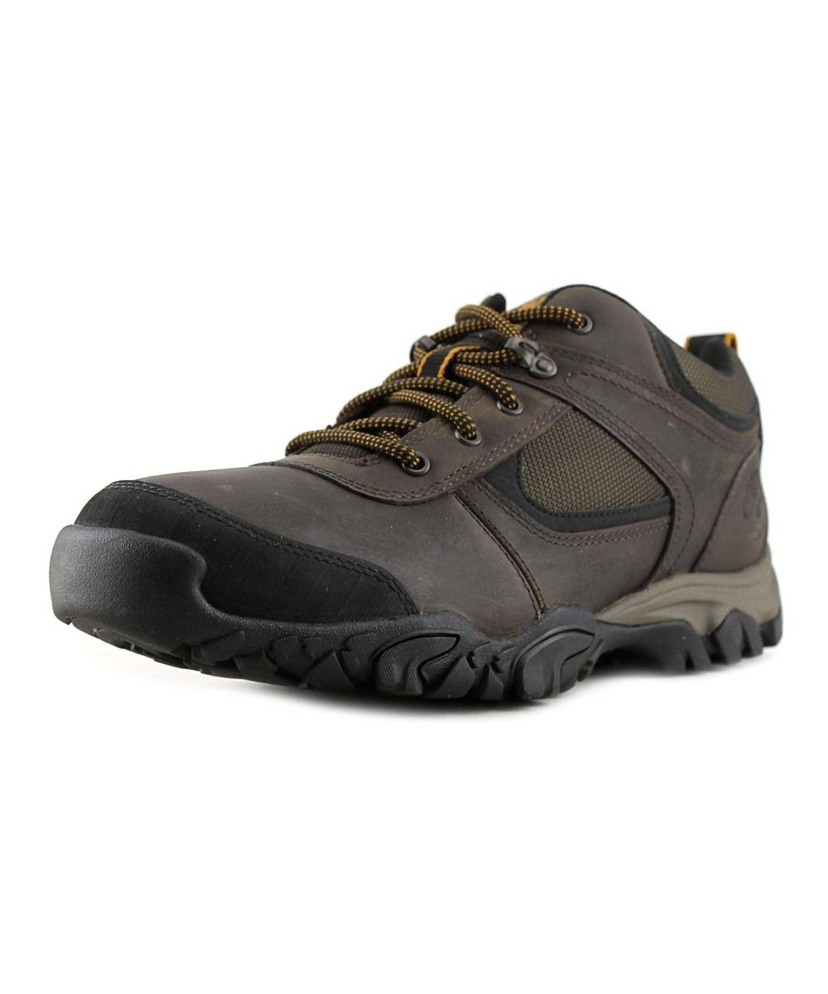 TIMBERLAND TIMBERLAND MT. ABRAM LOW   ROUND TOE LEATHER  HIKING BOOT'. #timberland #shoes #boots
