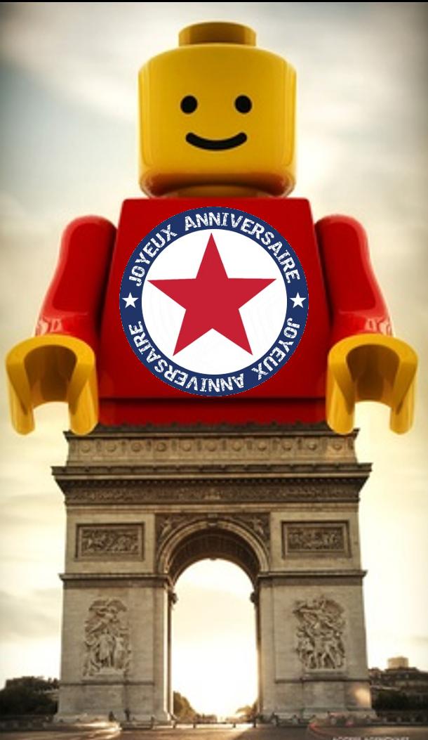 Joyeux Anniversaire Lego I Qq Lego Publicité Et Annonces