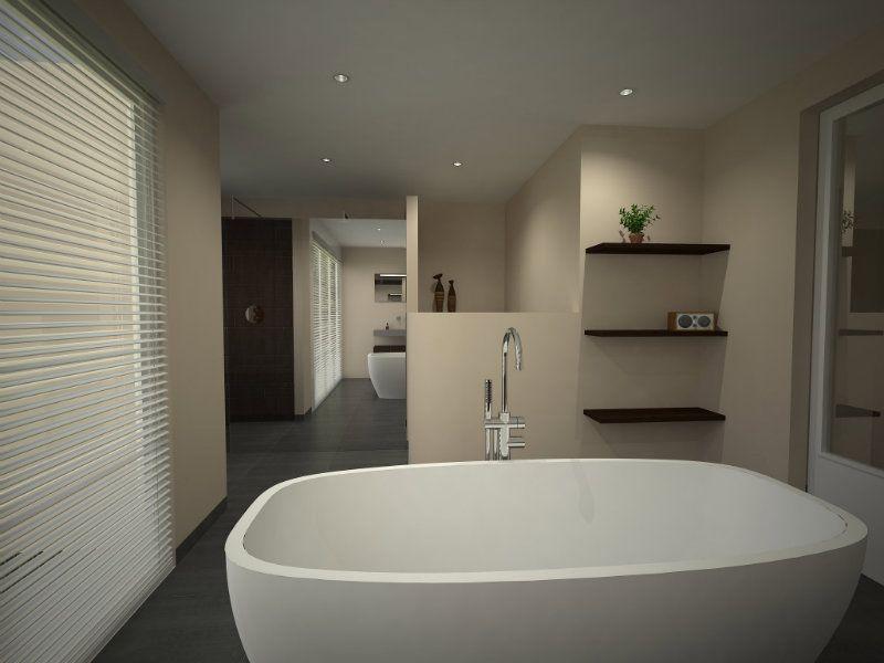 Creatief met ruimte in een grote badkamer - Beniers Badkamers ...