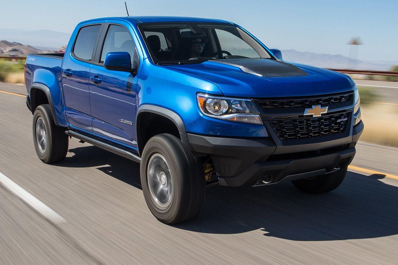 The 2019 Chevrolet Colorado Z72 Ratings Chevy Colorado