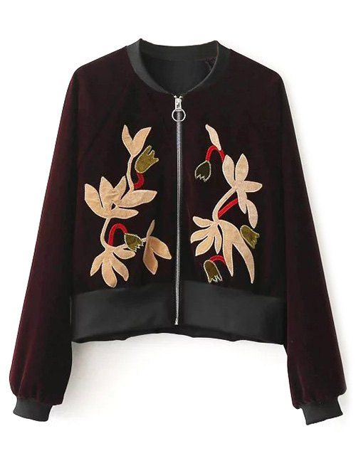 SHARE & Get it FREE | Zip-Up Velvet Sukajan JacketFor Fashion Lovers only:80,000+ Items • New Arrivals Daily • Affordable Casual to Chic for Every Occasion Join Sammydress: Get YOUR $50 NOW!