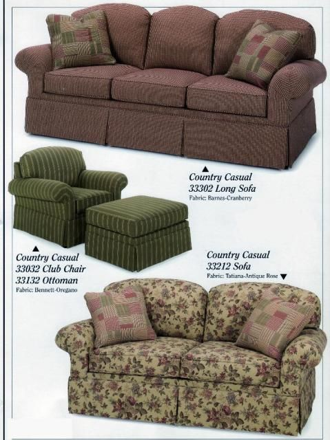 Carolina Country Furniture  Country Casual Series. Click To See Over 400  Fabric Choices For
