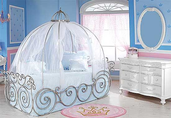 The Link I C On Was Princess Carriage Bed